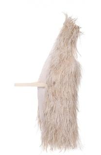 Односторонний жилет с перьевой отделкой Isabel Benenato