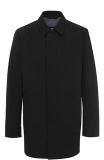 Укороченное пальто на молнии с отложным воротником BOSS