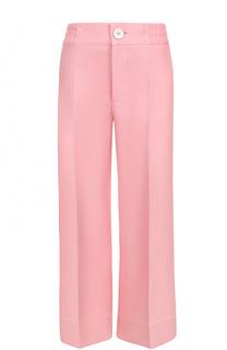 Укороченные широкие брюки со стрелками Bally