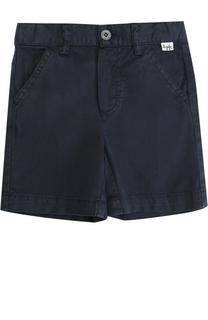 Хлопковые шорты с эластичной вставкой на поясе Il Gufo