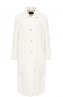 Пальто прямого кроя с накладными карманами Isabel Marant