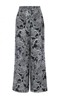 Укороченные широкие брюки с принтом Acne Studios