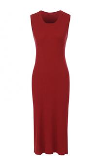 Платье-миди фактурной вязки без рукавов malo