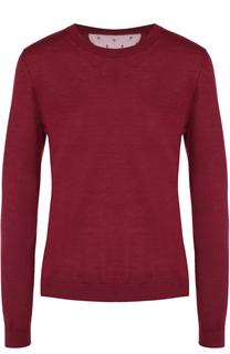 Кашемировый пуловер с круглым вырезом REDVALENTINO