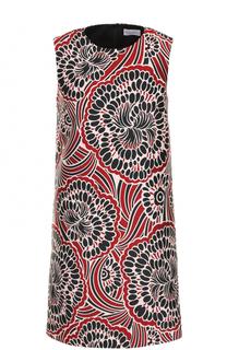 Мини-платье прямого кроя с принтом REDVALENTINO