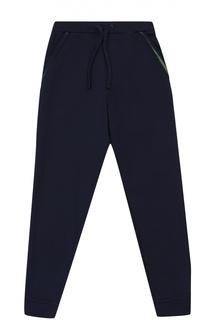 Спортивные брюки с логотипом бренда Dirk Bikkembergs