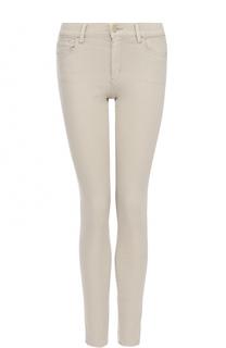 Однотонные джинсы-скинни BOSS