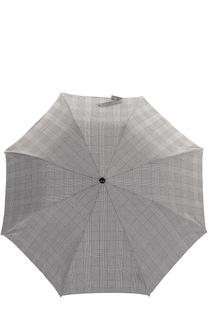 Складной зонт с черепом на ручке Alexander McQueen