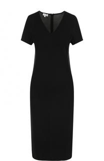 Приталенное платье-миди с V-образным вырезом Escada Sport