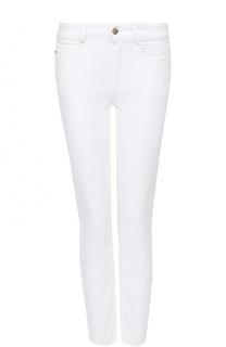 Укороченные джинсы прямого кроя BOSS