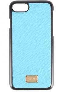 Кожаный чехол для iPhone 7 Dolce & Gabbana