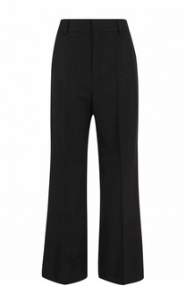 Расклешенные брюки со стрелками Chloé