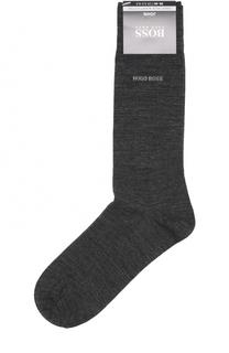 Носки из смеси шерсти и хлопка HUGO