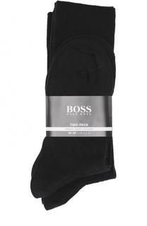 Комплект из двух пар хлопковый носков BOSS
