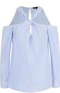 Блуза в полоску с открытыми плечами Rag&Bone Rag&Bone