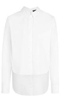 Блуза прямого кроя с удлиненной спинкой Rag&Bone Rag&Bone