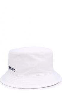Панама из хлопка с логотипом бренда Il Trenino