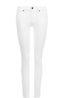 Однотонные джинсы-скинни Burberry