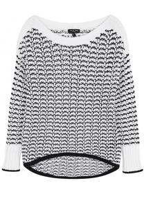Пуловер фактурной вязки с вырезом-лодочка Rag&Bone Rag&Bone