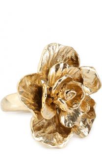 Кольцо с цветком Oscar de la Renta