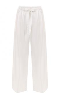 Широкие брюки с поясом и стрелками Forte_forte