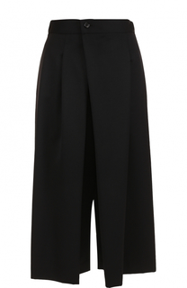 Укороченные широкие брюки с карманами Yohji Yamamoto