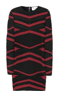 Платье-футляр с геометрическим принтом Zuhair Murad