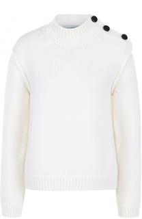 Пуловер свободного кроя с воротником-стойкой Valentino