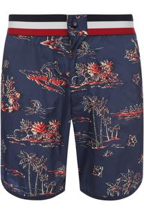 Плавки-шорты с принтом Moncler