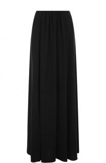 Однотонная юбка-макси Giorgio Armani