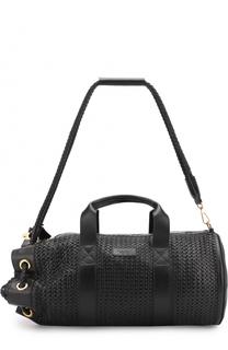 Кожаная сумка с плечевым ремнем Buscemi