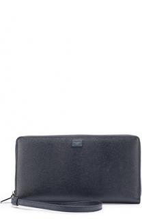 Кожаный футляр для документов на молнии Dolce & Gabbana