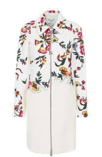 Пальто прямого кроя с цветочным принтом 3.1 Phillip Lim