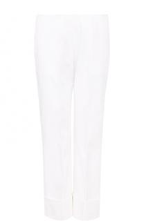 Укороченные брюки прямого кроя со стрелками Fay