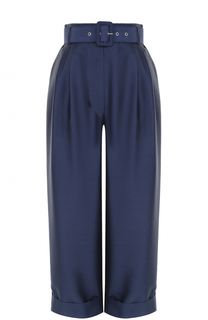 Укороченные брюки с завышенной талией и поясом Isa Arfen