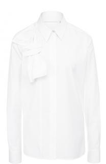 Блуза прямого кроя с бантом Victoria by Victoria Beckham