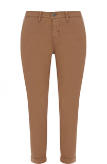 Укороченные брюки прямого кроя с отворотами Two Women In The World