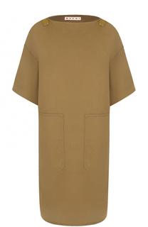 Мини-платье свободного кроя Marni