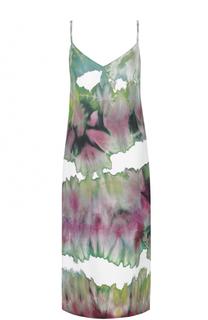 Платье прямого кроя с принтом Acne Studios