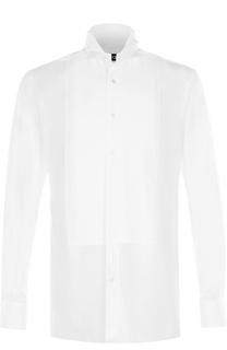 Хлопковая сорочка под смокинг Tom Ford