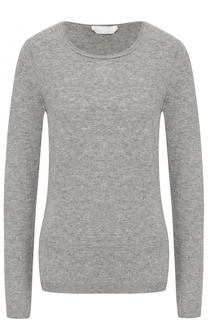 Пуловер прямого кроя с круглым вырезом BOSS