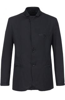 Куртка на пуговицах с отложным воротником Giorgio Armani