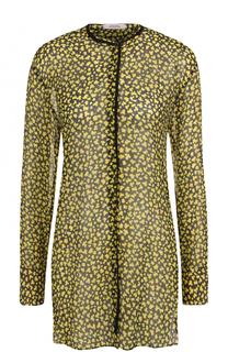 Шелковая блуза свободного кроя с круглым вырезом Dorothee Schumacher