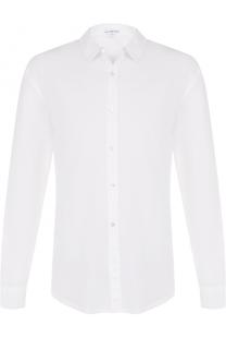 Хлопковая рубашка с воротником кент James Perse