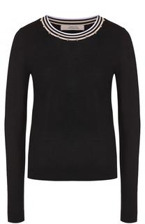 Пуловер с декорированным круглым вырезом Dorothee Schumacher