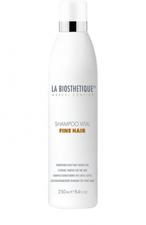 Укрепляющий шампунь для тонких поврежденных волос La Biosthetique