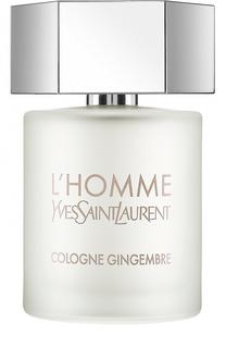 Туалетная вода L`Homme Cologne Gingembre YSL