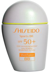 Солнцезащитный BB-крем-спорт, оттенок Light Shiseido