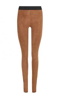 Замшевые брюки DROMe