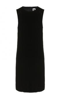 Бархатное мини-платье без рукавов M Missoni